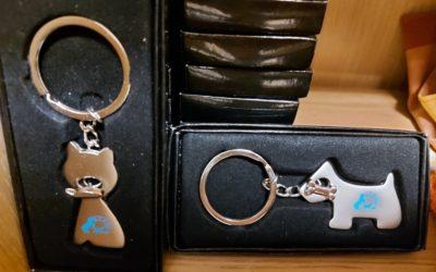 Porte clés (non réalisés par les bénévoles): 5€